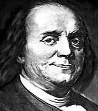 Benjamin franklin date of birth