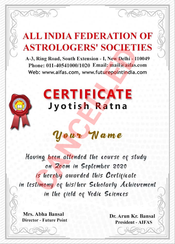 astrology-certificate